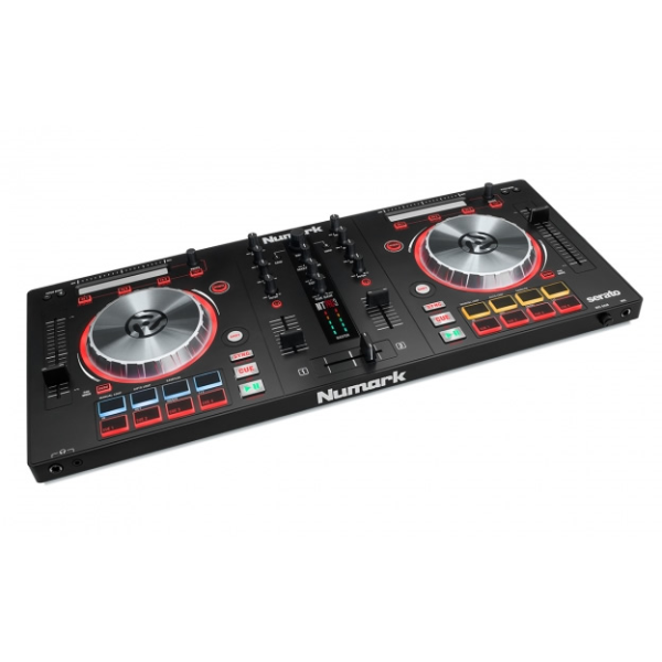 Best-selling DJ controller with audio outputs. Comes with Serato DJ Intro. Everything you need to start DeeJaying with your laptop.