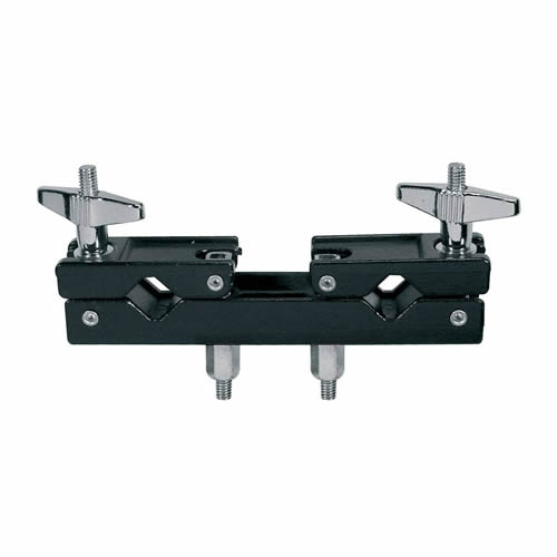 Drum clamp for cymbal arms/drum hardware.