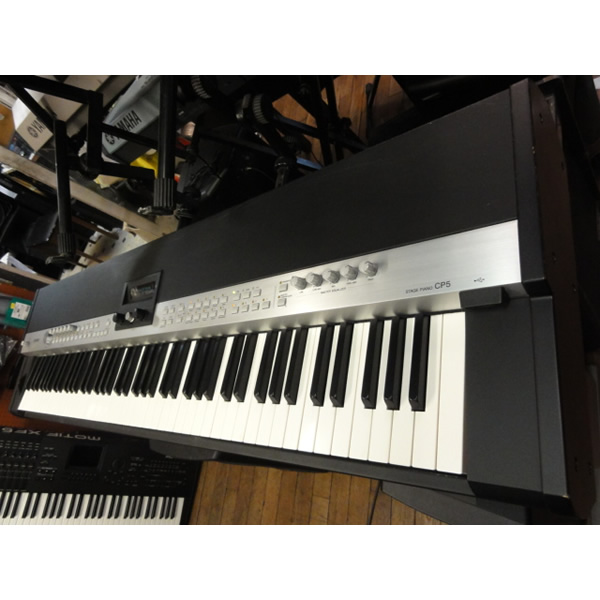 "<p>Superb 88-key stage piano with an amazing sound set!</p><p>Combining Yamaha's core Spectral Component Modeling technology plus a wide range of sounds and functions. The CP5 has all the features for the pro player.<br /></p><p>The CP5 take the core sounds and technology of the CP1 and offer them in instruments that are both flexible and affordable enough to appeal to a wide range of people. In fact, the CP5 adds a wide range of sounds to the CP1. Clavs, organs, strings and more make the CP5 perfect for church, and live situations where everything needs to be performed on one keyboard. Moreover, the CP5 features not only Virtual Circuit Modeling effects, but many effects taken from the Motif XS line of synthesizers. The CP5 has the same NW-STAGE wooden action keyboard as same with the CP1.</p><p>Using technology and experience from 100 of building Yamaha Acoustic Pianos, the new 88-key NW-STAGE wooden keyboard offers the perfect playability for stage performance . It minimizes keyboard vibration, and the synthetic ivory keytops feel great when you are playing. This keyboard technology effortlessly reproduces the true feeling of acoustic and electric pianos.</p><p><br /></p><div style=""box-sizing:border-box;color:#4d4d4d;font-family:Lato, sans-serif;font-size:14px;line-height:20px;background-color:#ffffff;""><p><br /></p></div>"