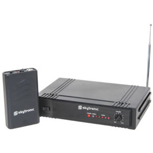 1-CHANNEL VHF GUITAR WIRELESS SYSTEM