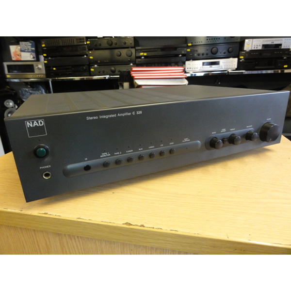 <p>Lovely hi-fi amp with a smooth, powerful sound.&nbsp;<br />Great detail and wide sound-stage.<br />6 line-level inputs plus one phono stage.</p><p><br /></p>