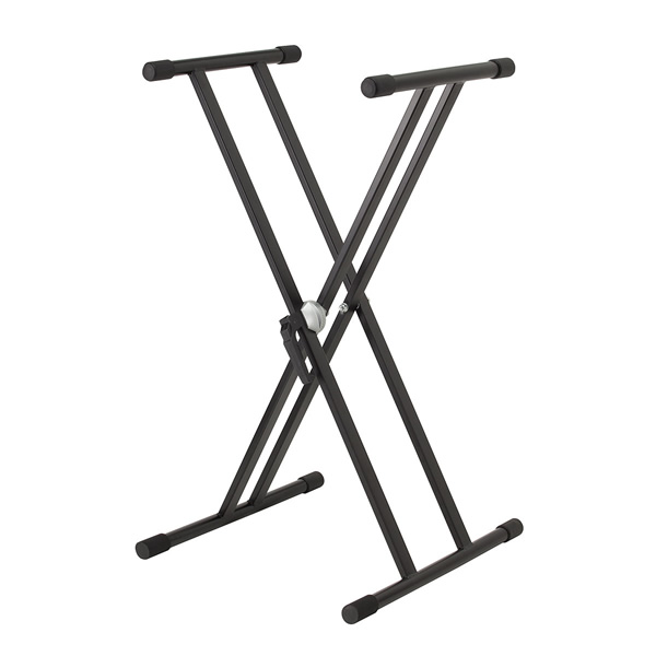 <p>Double keyboard stand. </p><p>Sturdy and stable, suitable for a heavy keyboards and digital pianos.</p>