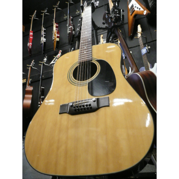 Japanese-made 12-string acoustic guitar (1970s) in excellent condition.