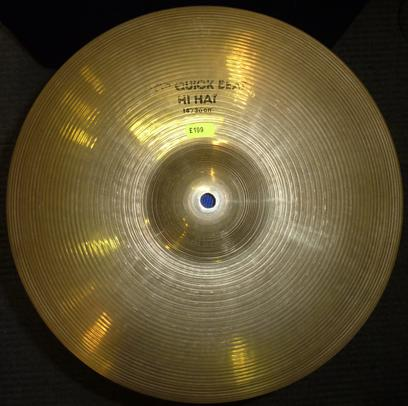 "Zildjian 14"" hi-hat cymbals in good condition."