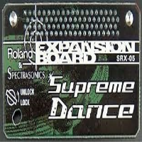 The SRX-05 Supreme Dance Wave Expansion Board is a must-have collection of dance music sounds. This board focuses on individual drum sounds and instruments for maximum dancefloor impact: 818 new waveforms, 312 patches and 34 rhythm sets. These sounds have been seriously pumped up in the Roland Sound Labs, so they're ready to go in your next track — whether it be hip-hop, house, trance, techno, or you-name-it dance style.
