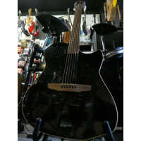 <p>Thin-bodied electro-acoustic guitar with blendable undersaddle pickup and internal microphone option.  Beautiful amplified sound - this one's for the pros!</p><p>Excellent condition.</p>