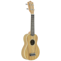Quality concert ukulele with attractive finish.