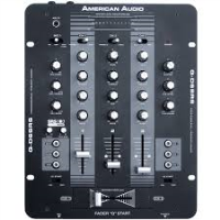 3-channel DJ mixer<br /><br />2 phono, 3 Lines, 2 auxiliary and 1 microphone input<br /><br />Balanced Outputs