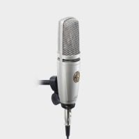 Large diaphragm studio condenser microphone. Excellent sound for a mic in this price bracket - full-bodied and warm, with a crisp but well-controlled top end.