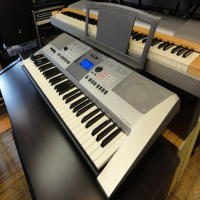 A quality 61 key arranger keyboard.<br /><br />Well-built, with an excellent sound set.<br /><br />Very good condition, with music rest and manual.<br /><br />About 500 sounds including Yamaha's XGLite.<br /><br /><br />