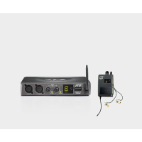 <p>Professional wireless in-ear monitoring system.</p><p>Channel 70 UHF (16 selectable channels.) </p><p>Transmitter has two inputs wth independent volume controls, allowing two mixes to be blended to suit the user's requirements. </p><p><br /></p><p></p>
