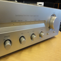 <p>Quality hi-fi amp with a powerful, smooth sound.</p><p>5 line-level inputs and one phono stage.</p><p>Bass, Treble, Balance, Source Direct, Speakers On/Off and Loudness controls.</p><p>Very good condition.</p>