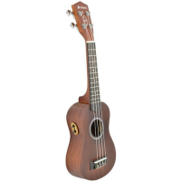 Entry-level soprano electro ukulele.