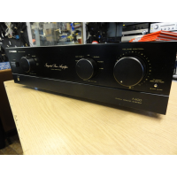 Pioneer A400 is a no frills 'audiophile' amplifier that set the 'cat among the pigeons' when it was introduced in 1990. Hi-Fi magazines greeted it with a chorus of praise. <br />Comparisons with amplifiers costing up to £1,000 were made, confirming that the A400 is a 'giant killer'. <br /><br />25,000 units were sold in the first 18 months, securing an extraordinary 12.8% of the total amplifier market. <br />Soon, the Pioneer A400 attained something of a cult status.<br /> <br />It won the coveted Product of the Year by the What Hi-Fi? magazine - an accolade that had never before gone to a Japanese company.<br /><br />5 line-level inputs and a phono stage with MM/MC switching.<br /><br /><br />