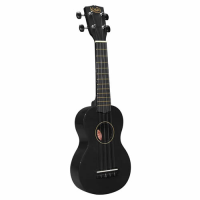 Entry-level soprano uke with bag.