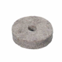 Felt washer for cymbal stands.