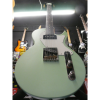 Awesome LP/Tele hybrid guitar with ash body, Kluson style tulip tuners, Duncan designed pickups, and more...<br /><br />Matte surf green finish.