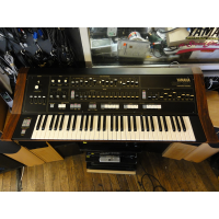<p>This is one rare beast...Symphonic Ensemble from 1980! </p><p>This combines a 7 note polyphonic analogue synthesizer with two oscillators per voice, a single oscillator analogue monosynth, a digital organ section with full drawbar control and a preset string synth. <br />Capable of some very fat sounds indeed - layering the polysynth, strings and organ section produces some incredible results! </p><p>Each part has an individual output as well as a mixed output which combines the sound from all sections.</p><p>This unit is in excellent condition and comes with a custom flightcase and the original user manual. <br /><br /><br /></p>