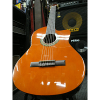 Entry-level electro-classical guitar with built-in tuner and cutaway.  Stunning value for money!