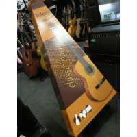 Decent 3/4 size classical guitar for beginners.  Includes bag, plectrums, clip-on tuner.