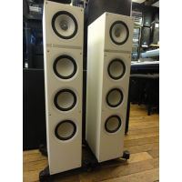 <p>Sleek modern floorstanders - fantastic sound and looks!<br /><br />Uni-Q technology for a natural soundstage.</p><p>Three-way drivers with a dual concentric tweeter/midrange enclosure, a bass driver and two additional ABRs </p><p> The tweeter has a 'tangerine' wave-guide system to help it integrate smoothly with the mid-range.</p><p>Made from lightweight yet rigid aluminium, the mid-range woofer is fast to respond and linear in its response, giving life-like dynamics and low levels of distortion. </p><p>Within its elegant floorstanding cabinet the Q500 houses no fewer than three additional bass woofers.</p><p> <br />One of these is powered and is dedicated entirely to bass below the mid-range unit. Working rather like a subwoofer, this enables the Q500 to offer consistent bass that's deep and sustained. </p><p>Improving this further, twin Auxiliary Bass Radiators (ABR) use energy in the cabinet to enhance and sustain the bass response.<br /><br /></p>