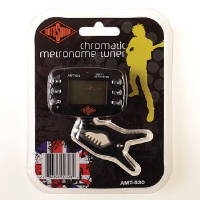 Excellent clip-on tuner and metronome in one.