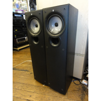 <p>Quality modern floor-standers with a two-way coaxial speaker design and bass reflex port on the front panel.&nbsp;<br />Soft dome tweeter, 160mm bass woofer.&nbsp;</p><p>Excellent sound, very good condition.</p><p>Complete with spikes and front grilles.</p>