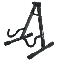 Decent A-frame stand for electric guitar or bass guitar.