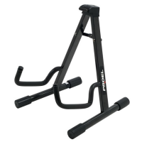 Decent A-frame stand for acoustic guitar or acoustic bass guitar.