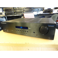 High quality, discrete design amplifier, using high quality components.<br />Lovely modern design, sleek looks.<br />Power output of 85W per channel.&nbsp;<br />Two sets of speaker outputs.<br />Three line level inputs and an output for recording.&nbsp;<br />Good quality MM phono stage built-in, allowing a turntable to connect directly.&nbsp;<br /><br />Mint condition.