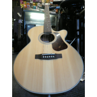 Superb thin-bodied electro-acoustic guitar with solid spruce top, Fishman system, and more.