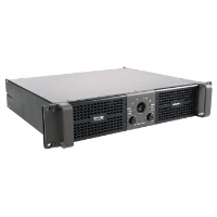 With the combination of efficient CLASS H power stages and a reliable switching power supply, the HPX2800, can deliver 2800 watts total at 2 ohm load making it a very convenient source of power in even the most demanding sound reinforcement applications. Light-weight and easily manageable, the HPX series amplifiers offer practicality as one of their primary features. Their switching mode power supplies and efficient cooling systems make them particularly suited for use in compact and portable systems and, at the same time, make them reliable and durable even after years of intense use. A selectable LPN (low-pass notch) filter allows for improved low-frequency response, guaranteeing more punch and greater dynamics, while simultaneously protecting the connected speakers from over-excursion. The front panel, which offers convenient, die-cast handles and a removable dust filter, provides a comprehensive system of LED status indicators and indexed level controls.<br /><br /><br />