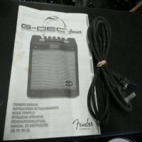 <p>15-watt multi-effects guitar amplifier with drum machine, tuner, midi compatibility, and more.</p><p>Includes manual.</p><p>Good condition.</p>