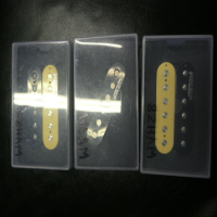 <p>2 x humbucking pickups and 1 x single coil pickup in good condition.</p><p>Combined RRP: &pound;125</p><p>We are happy to sell these pickups individually (&pound;22 per humbucker, &pound;20 for the single coil)</p>