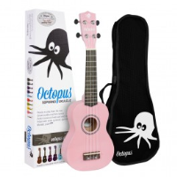 <p>Pink Soprano ukulele for beginners.  Includes bag.</p>