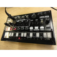 <p>The volca kick is an analog kick generator that's made for sound design. </p><p>An analog circuit based on the powerful resonant sound of the original MS-20 filter, it lets you create a wide range of kick sounds only possible through analog circuitry, ranging from solid kick drums to crisp kick basses. </p><p>The 16-step sequencer, a distinctive feature of the volca, now has a new Touch FX feature that lets you control an effect instantly, giving you even more live performance potential.</p><p>Mint condition. Boxed, with manual.</p><p><br /></p>