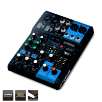 Quality mixer in a tiny footprint. High-end mic pre's and balanced XLR outputs.