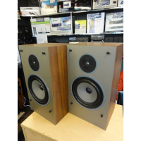 <p>A great pair of vintage two-way hi-fi speakers.<br />Lovely sound!<br />Attractive retro styling.<br />Made In UK<br />200mm bass driver and 19mm titanium tweeter.<br />Infinite baffle design.</p><p>Very good condition, with front grilles.<br /><br /></p>
