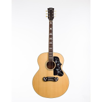 Awesome solid-top jumbo acoustic with padded bag.
