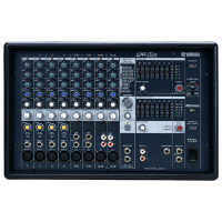 Quality 12 channel powered mixer with a range of features that let you mix, process, and deliver your sound with maximum quality and creative control ... and, of course, that unrivalled Yamaha sound.