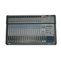 The M1500USB 20 channel mixer with USB provides 750+750 watts RMS  of power. It is ideal for bands, theatre or music groups, and, in general, for all amplification systems requiring a powerful, reliable, complete and easy-to-carry amplified mixer. Comes with reinforced carry-bag.