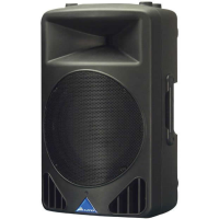 Lightweight plastic cabs, bi-amped with DSP. 250 watts each.