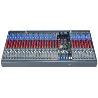 Compact 32 channel mixer ideal for live or studio use. 30 XLR inputs, 3-band EQ on each channel, 6 aux sends, inserts on every channel, 4 group outputs, dual effects processor and USB connectivity for computer recording applications.