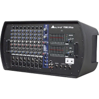 8-CHANNEL STEREO POWERED MIXER WITH DSP