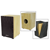 Quality cajon with maple body, beech wood frontplate and padded carry bag, all for just £129!