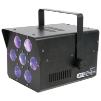 This ultra bright LED light effect combines unique patterns with a rotating LED board and 7 output lenses to create a moving mystical effect which covers a large area. These features make the unit ideal for creating background atmospheres or for use as a disco light by mobile DJs, and in small nightclub and bar installations.