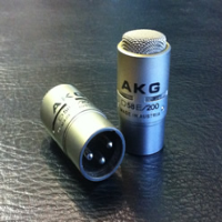 Classic professional talkback microphone. Two available. Priced each.