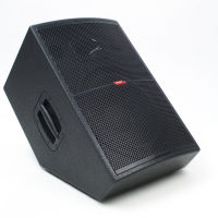"12"" active wedge monitor. 150 watts RMS/300 watts prog. Quality 1"" compression tweeter. Solid ply cabinet with black finish."