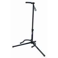 Low profile solid universal guitar stand for classic, acoustic/folk and electric guitars.
